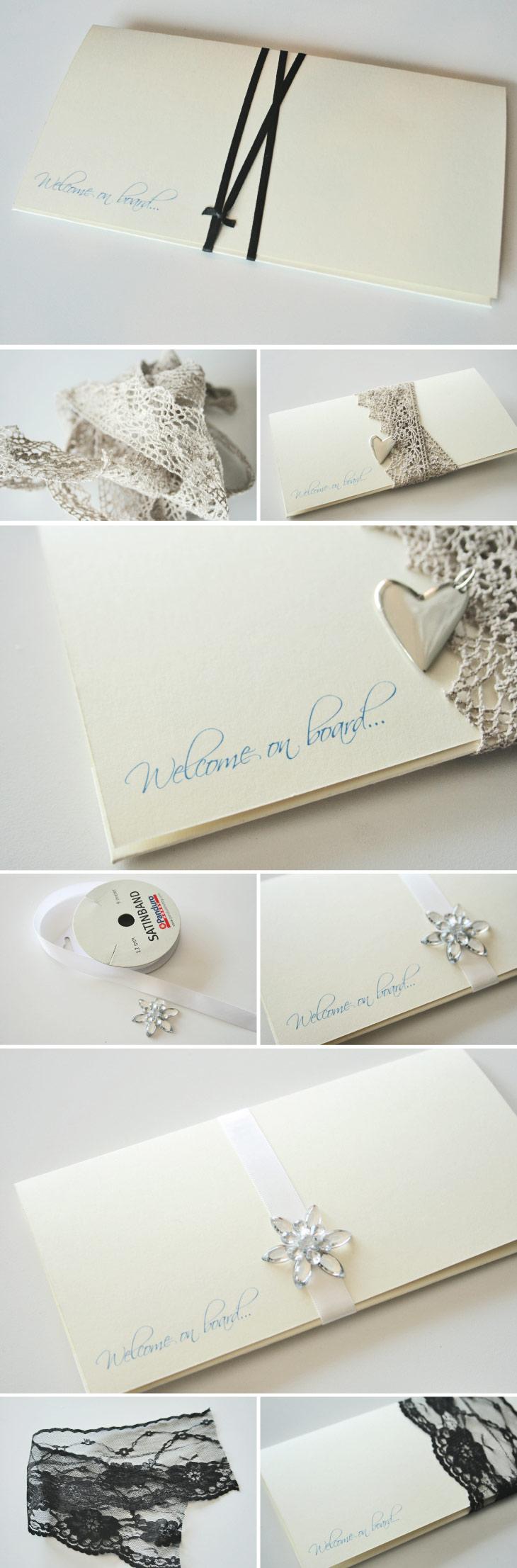 De flotte bryllupsinvitationer