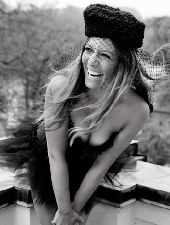 boudoir billede kvinde med hat