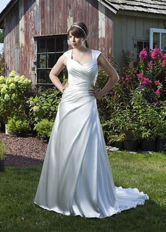 50d23fcab268 Den perfekte brudekjole som passer til din figur
