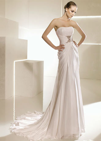 la sposa brudekjole saboya