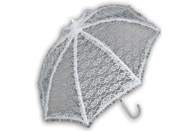 Grå paraply