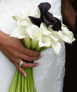 brudebuket callaer
