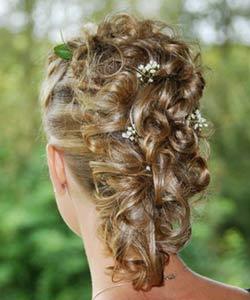 brude frisurer langt hår