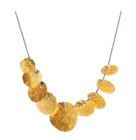 halskæde udført i grønlandsk guld