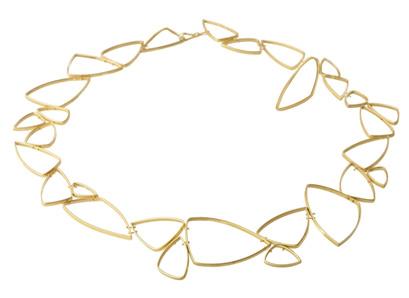 collier udført i 18 karat grønlandsk guld