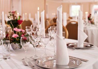 Håndværkeren restaurant og selskabslokale billede af festbord