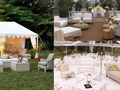 bryllupsfest i haven