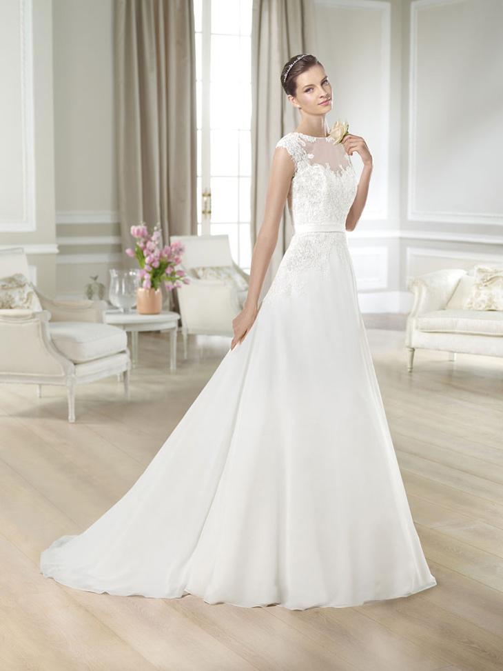 ca9ec6f4 White one brudekjole