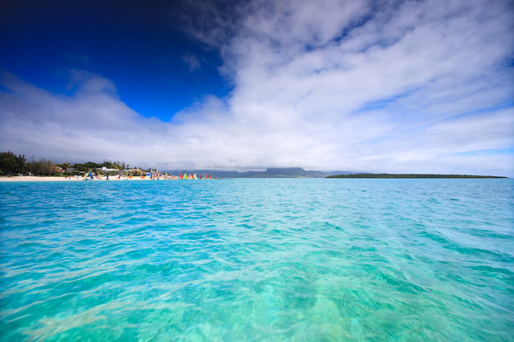 Landskab - østlige Mauritius