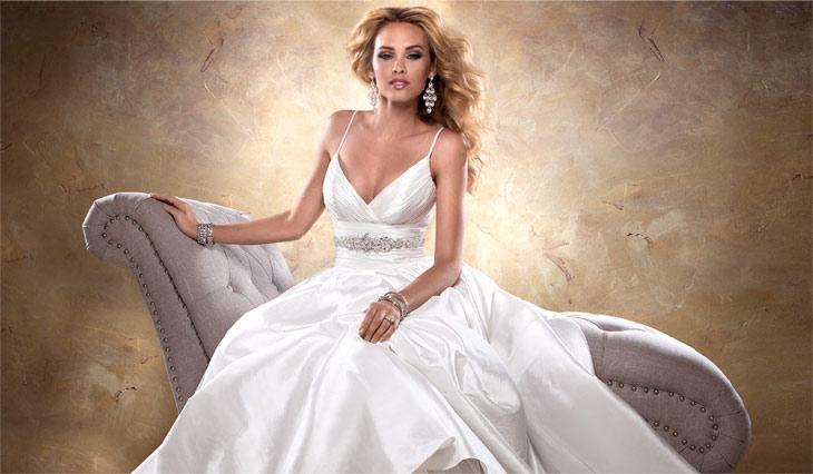 Brudekjole fra maggie sottero