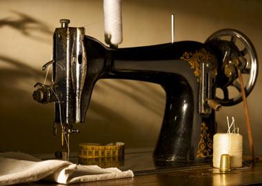 Gammeldags symaskine