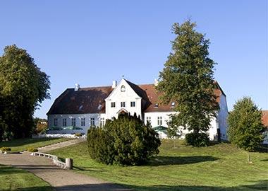 Scandic Bygholm billede af fronten af herregård