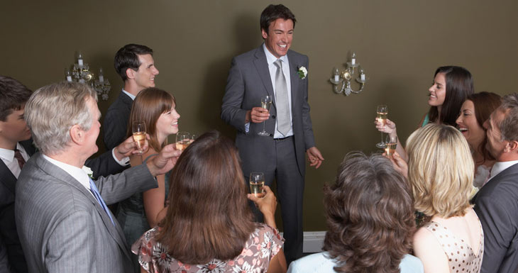 Toastmaster til bryllup