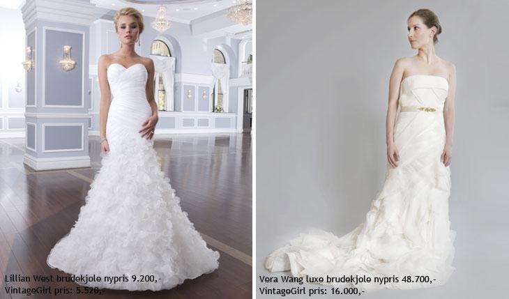 2ba5a3f7d6b2 nok Brugte brudekjoler til salg – Rioolbuizen