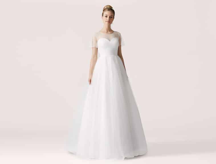 brudekjole prinsesse snit