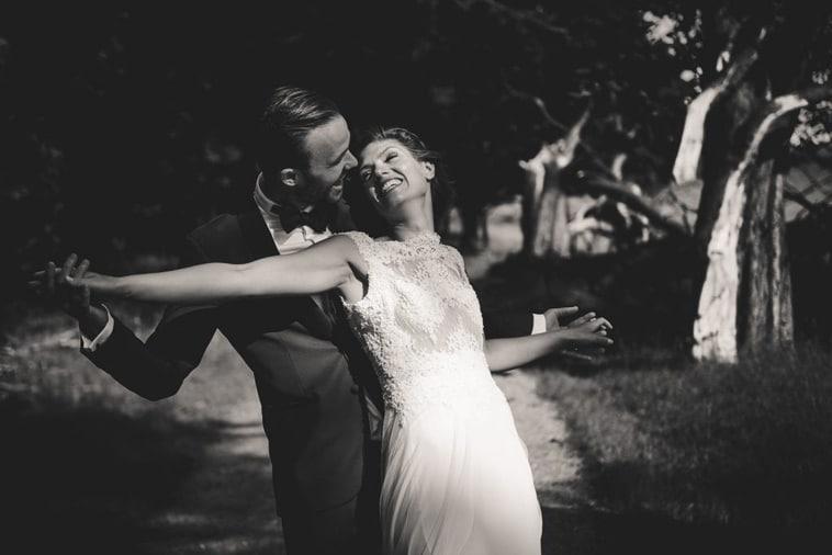 brudepar i