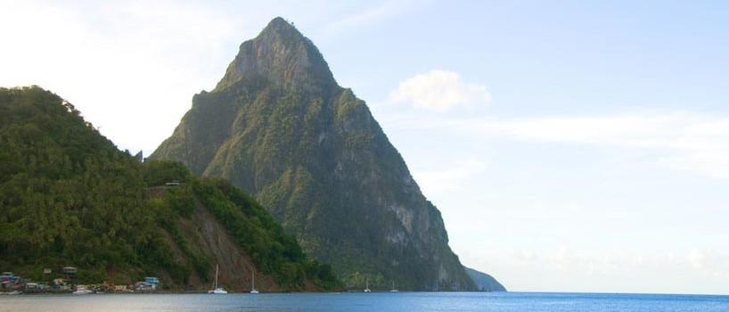 Bryllupsrejse på St. Lucia
