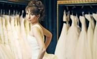 Brudekjole prøvning