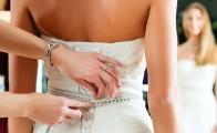 Tilretning af brudekjole