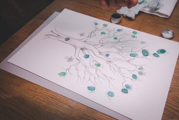 livets træ gæstebog