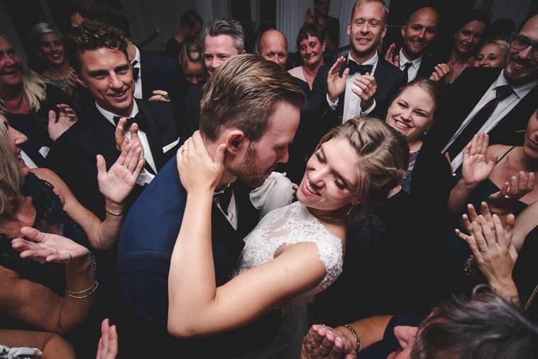 brudepar dansker brudevals