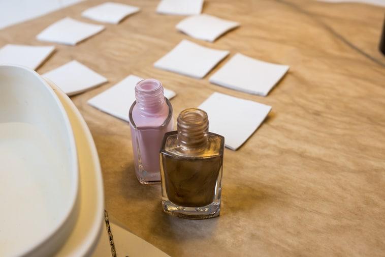 DIY bordkort i ler