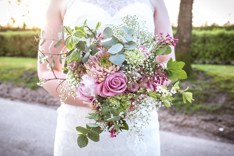 blomster til brudebuket