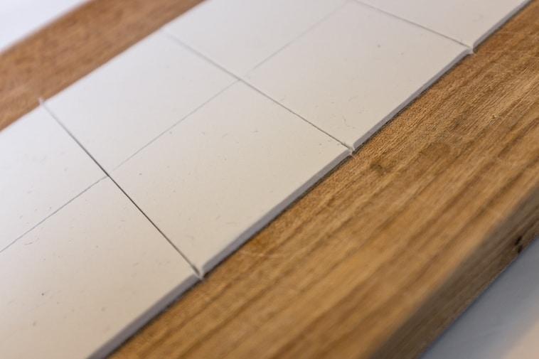Bordkort i ler