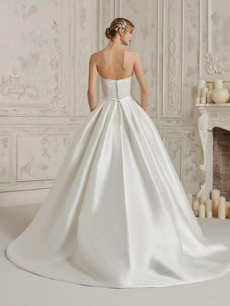 brudekjole prinsessesnit