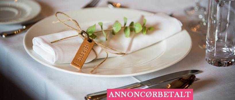 Bordkort til bryllup