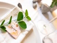 Bordkort med marmorering