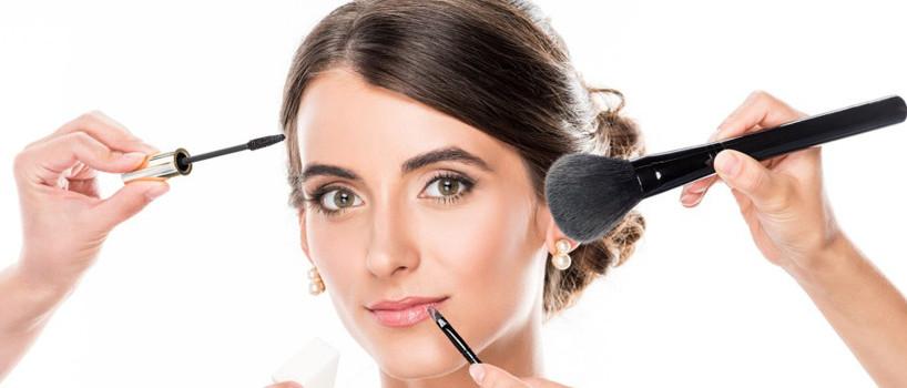 Brudehår og makeup 2019