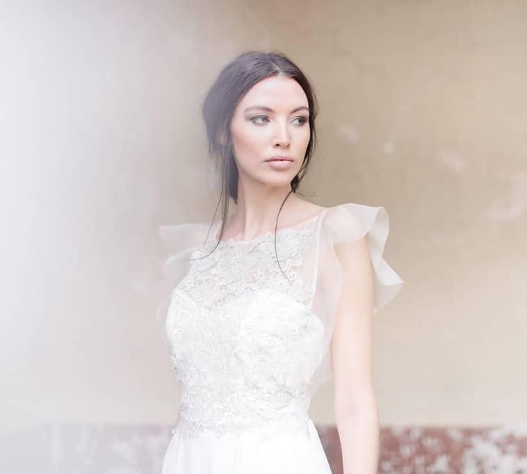 brudekjole-organza-ærmer