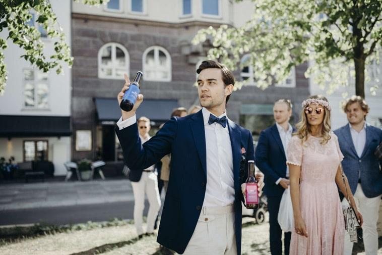 brudepar-med-specialdesignede-øl