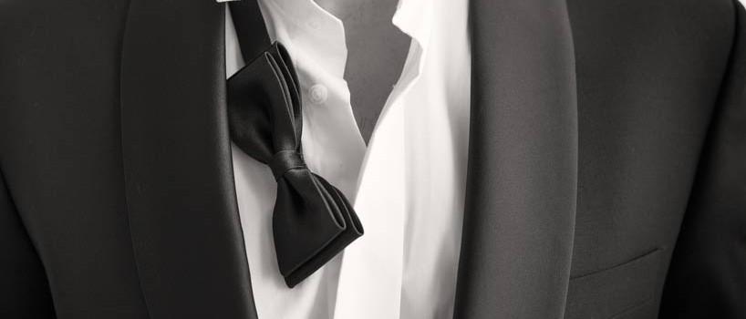 Brudgommens påklædning