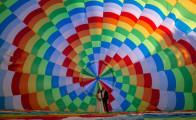 Nanna og Niels' ballon bryllup