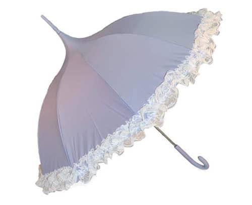 lilla bryllupsparaply