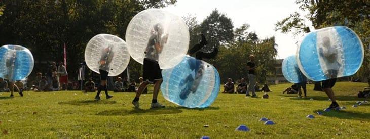 Bumberball aktivitet til polterabend