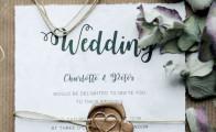 Diana Lovring bryllupsinvitationer