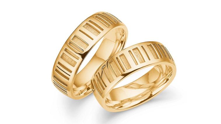Vielsesringe i 14K guld