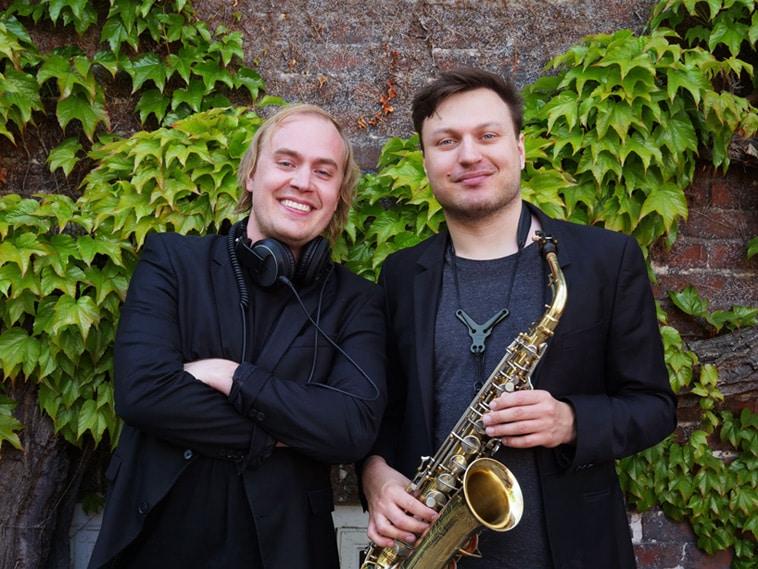 DJ og saxofonist