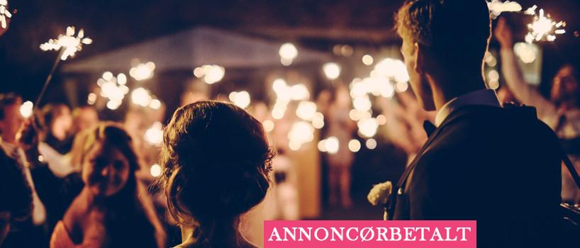 Lej alt til brylluppet hos Festgåarden