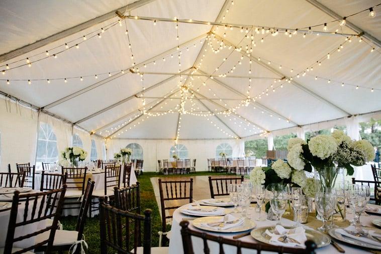 telt til bryllupsfest