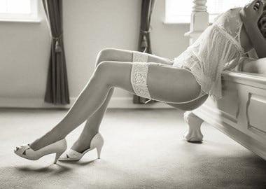 Kvinde i undertøj