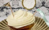 Flot og enkelt kagepynt til kagen
