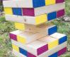 Byg et kæmpe klodsmajor til havebrylluppet