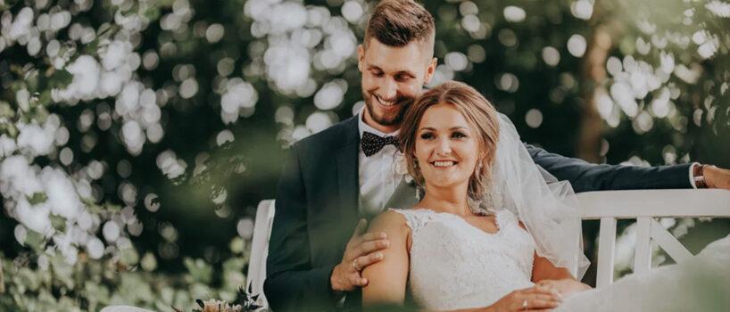 Line og Nicklas' bryllup