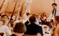 Hold et fortryllende bryllup i luksustelt