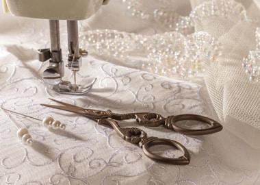 Brudekjole tilretning