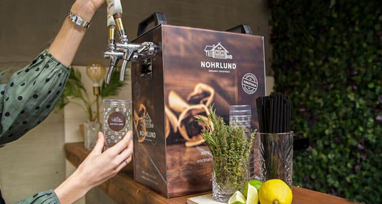 Tap-selv cocktails fra Nohrlund